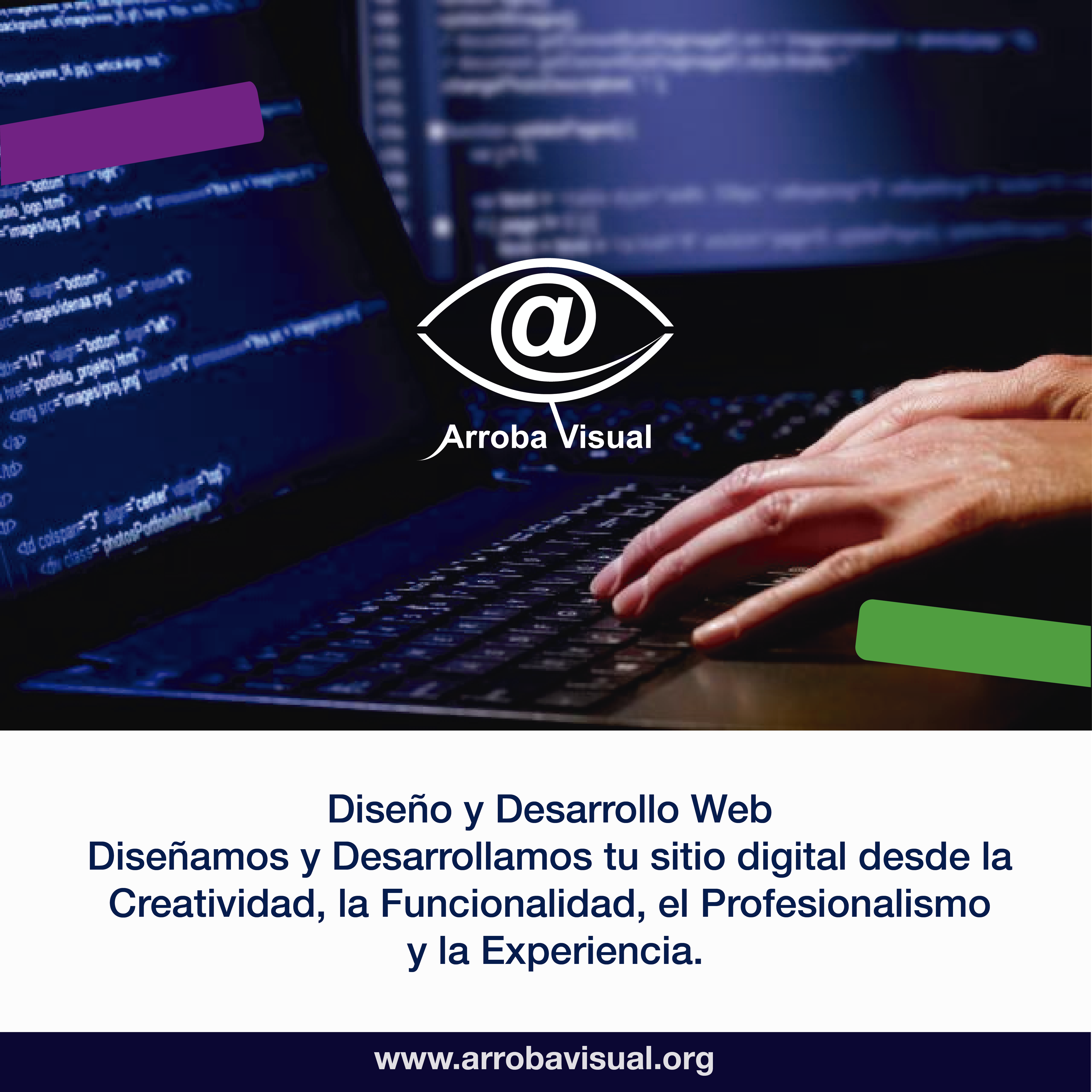Diseño y Desarrollo web Arroba Visual